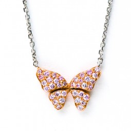 18 Butterfly Necklace