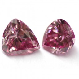 0.28ctw Matched Pair of Pink Diamonds