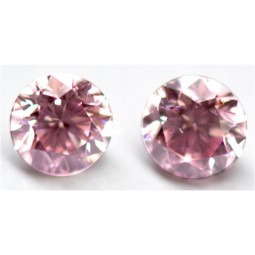 0.39ct Matched Pair of Pink Diamonds