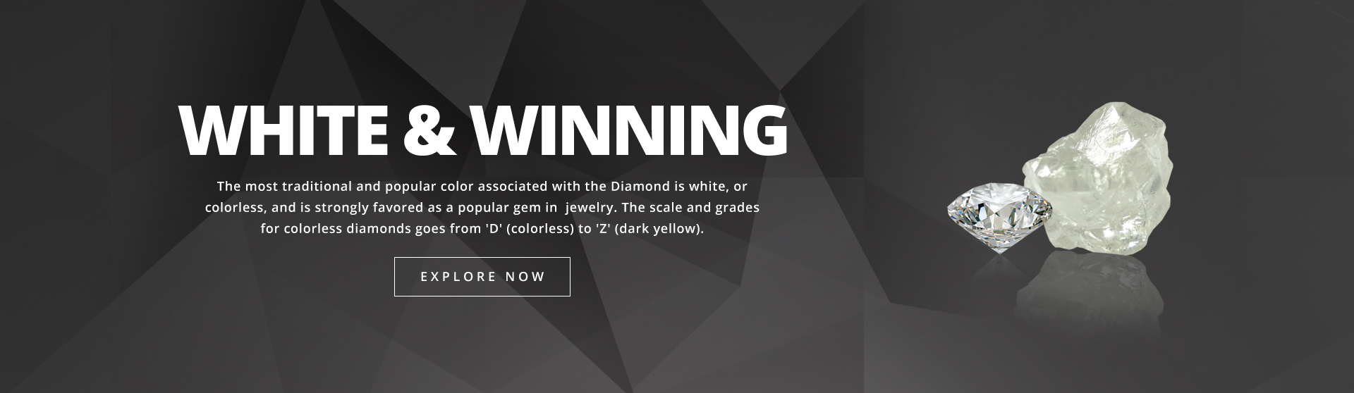 White Diamond Banner Home Page